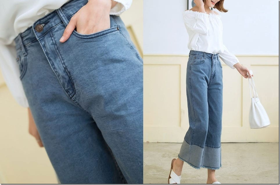 The Palazzo Pants For A Denim Fashion Lover