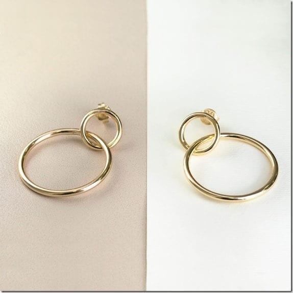 gold-double-hoop-earrings