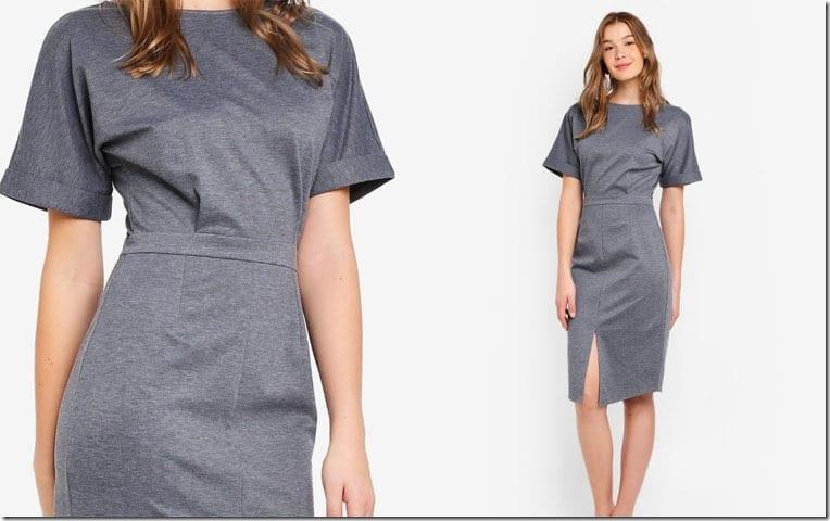 grey-drop-shoulder-dress