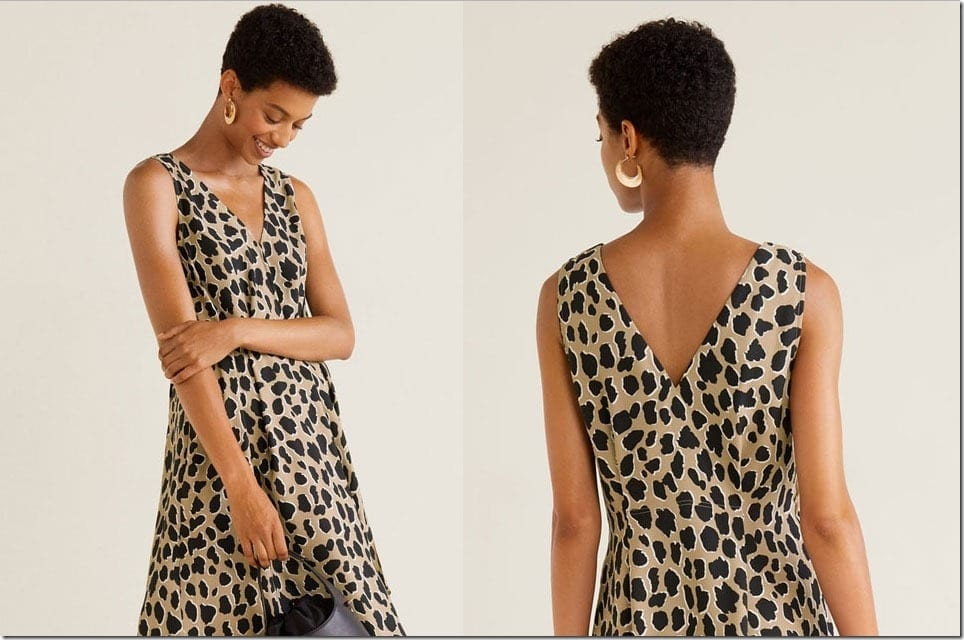 How To Style A Leopard Print Dress And Look Good Wearing It?
