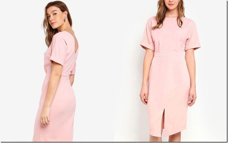 pink-drop-shoulder-dress