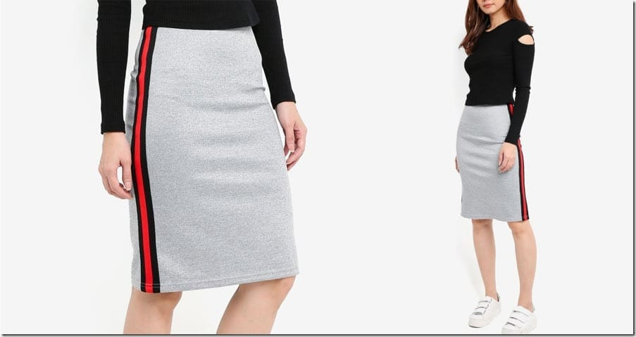 side-stripe-midi-skirt-grey