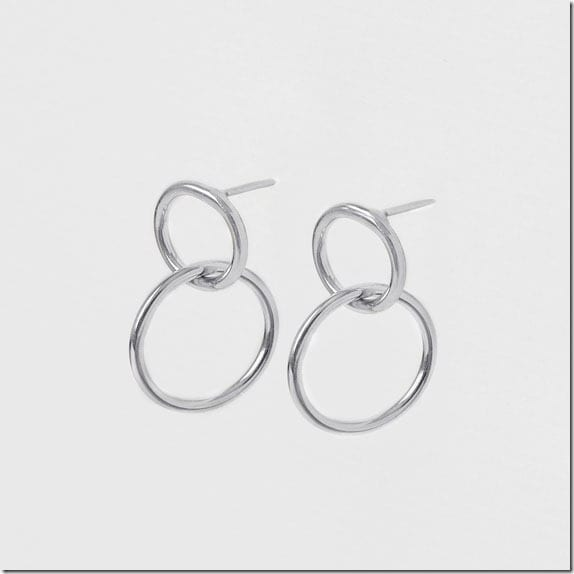 silver-double-hoop-earrings