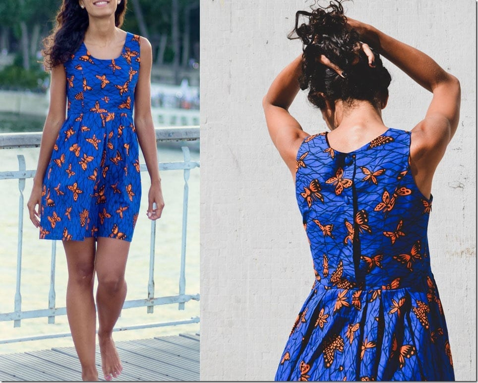 african-print-butterfly-blue-dress