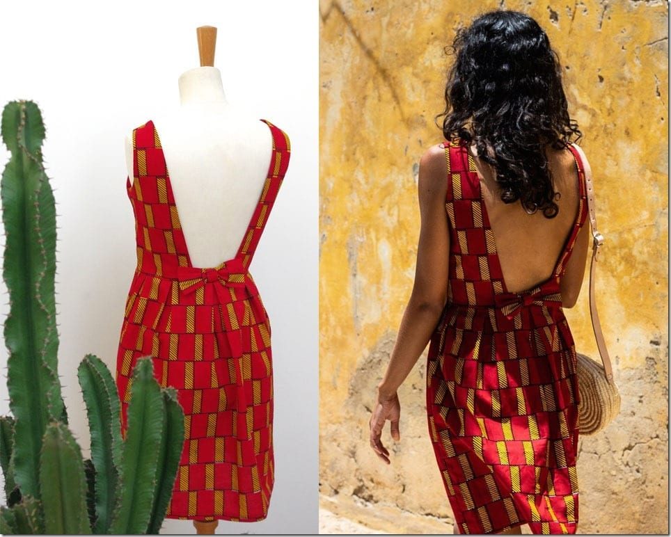 bow-back-african-print-red-dress