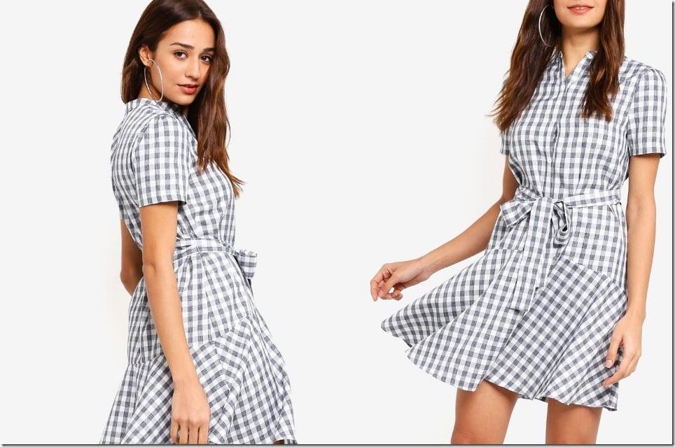 Christmas 2018 Casual Dress Idea ~ The Drop Waist Dress