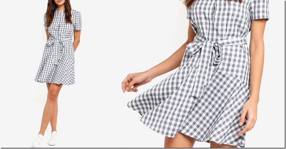 gingham-drop-waist-dress