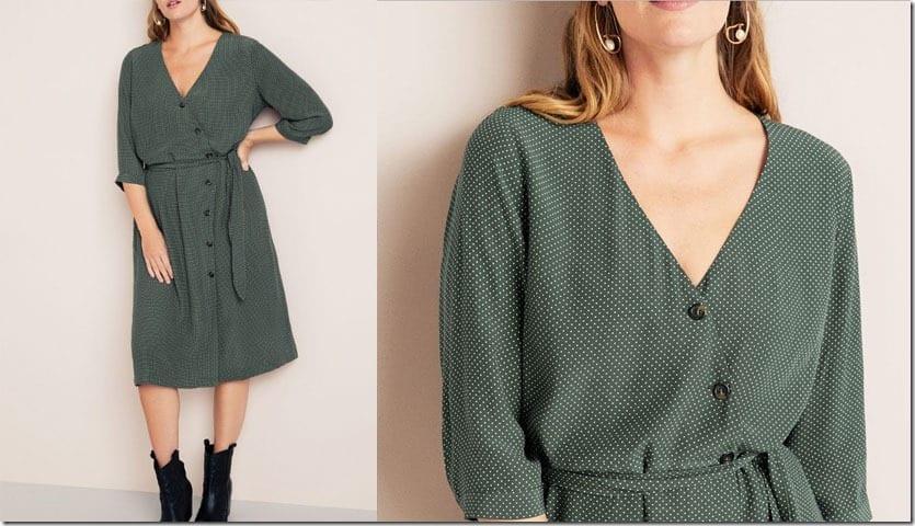 green-dot-plus-size-wrap-dress