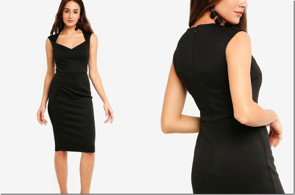 The Bodycon Dress Style For Your Christmas Party Wardrobe 2018