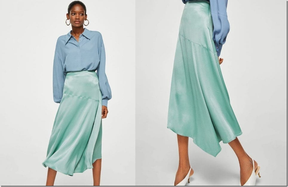 The Handkerchief Hem Skirt Style Of 2018