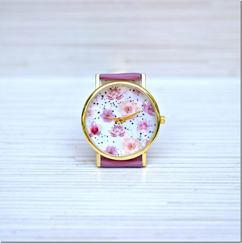 lotus-flower-statement-watch