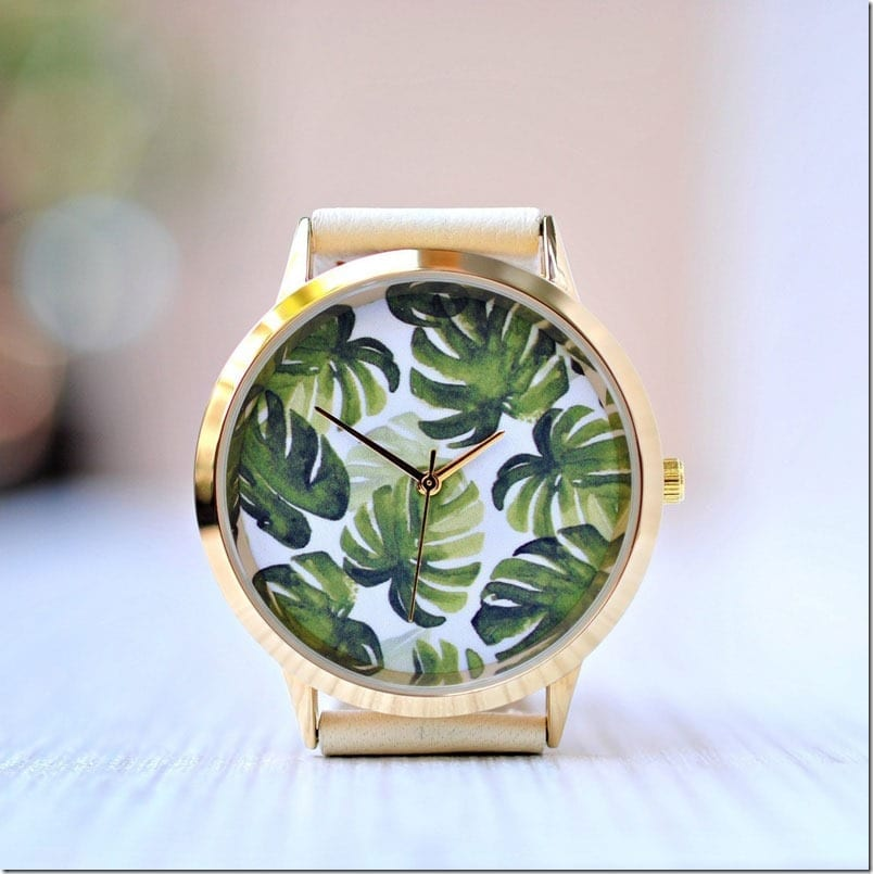 monstera-leaf-statement-watch
