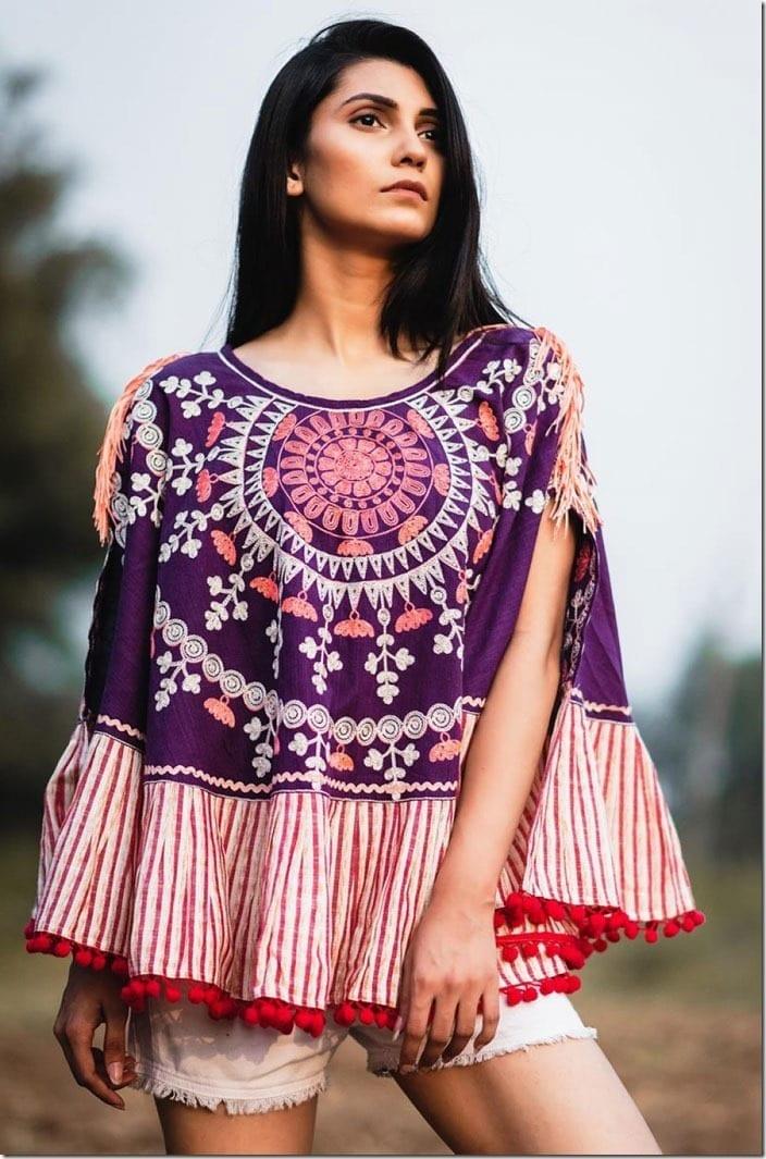 pompom-edge-embroidered-khadi-poncho