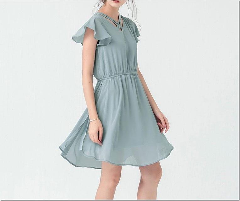 soft-blue-flutter-sleeve-dress