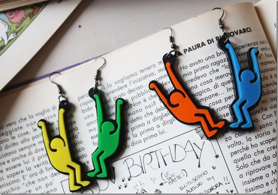 Fashionista NOW: The Street Art Style Earrings For Your Street Style OOTD