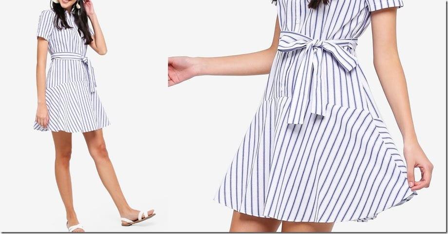 stripe-drop-waist-dress