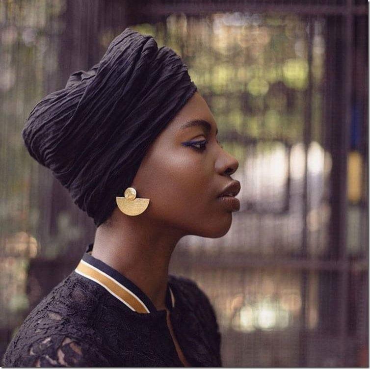 textured-fan-statement-earrings