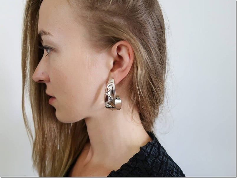 vintage-sculptural-hoop-earrings