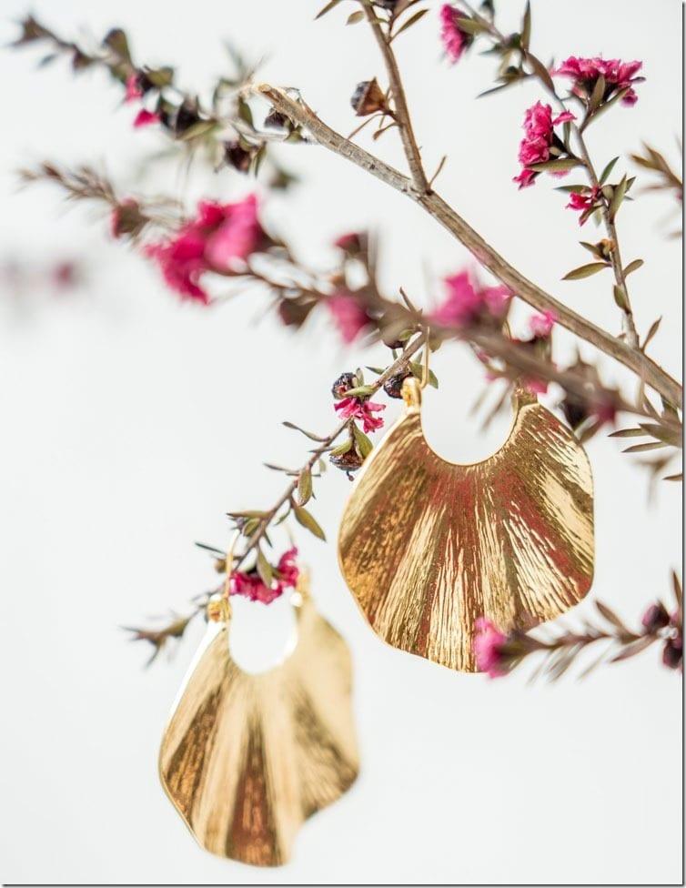 wavy-gold-hoop-statement-earrings