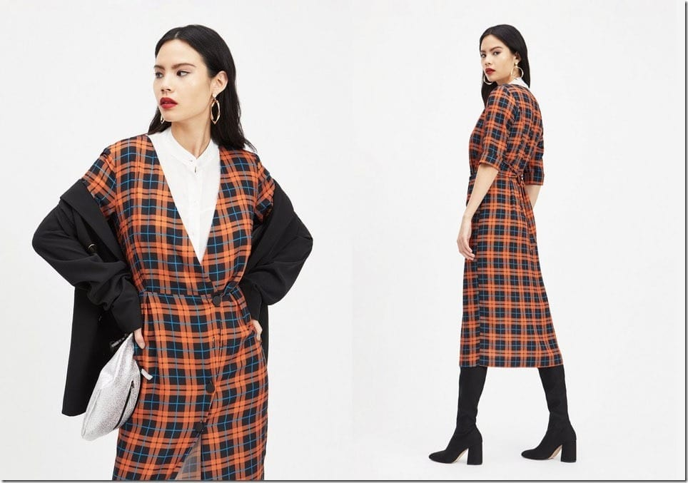 4 CHIC Check Midi Dresses For A Low Key But Extra Party Look