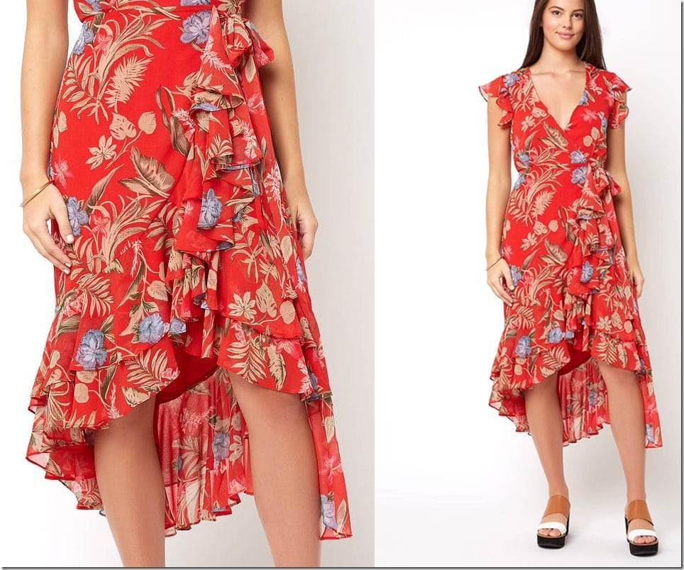 double-ruffle-floral-midi-dress