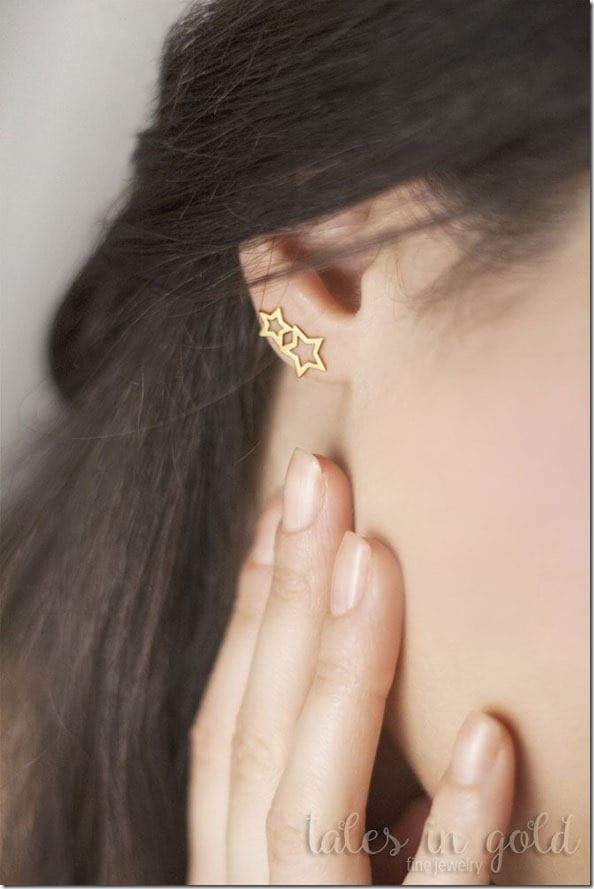double-star-stud-earrings