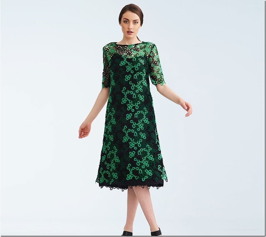 8 Green Dress Styles To Wow Your Festive Christmas 2018 Look