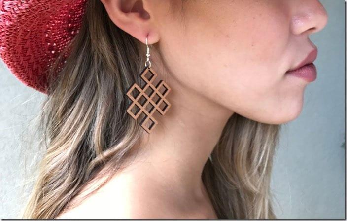 lattice-geometric-wood-earrings