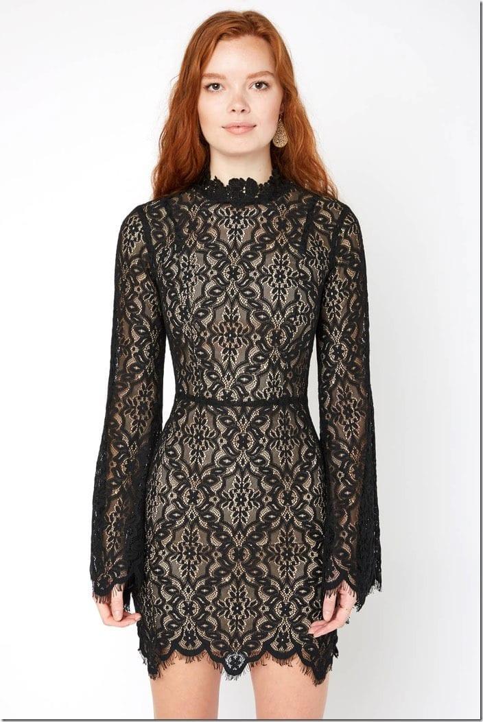 mandarin-floral-lace-bell-sleeve-dress
