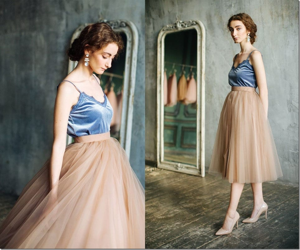 Slip Into The Fluffiest Tulle Skirts And Slay Your Party Look Ballerina Style