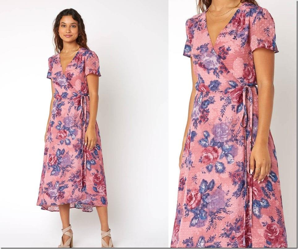 pink-floral-midi-wrap-dress