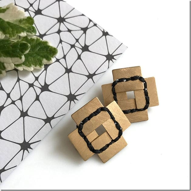 stitched-square-geometric-earrings