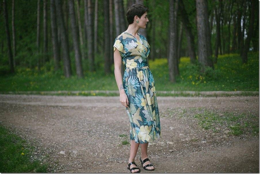 vintage-statement-floral-wrap-dress