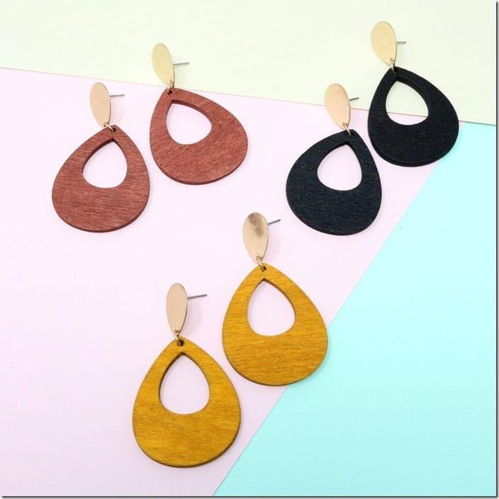 wooden-teardrop-earrings