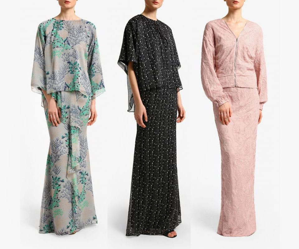 No More Boring Baju Raya As Alia B. Reimagines Modern Kurung For Raya 201