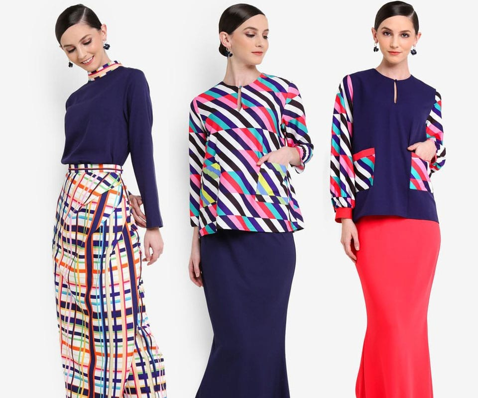 Color Your Raya With Warna 2019 Melinda Looi Collection