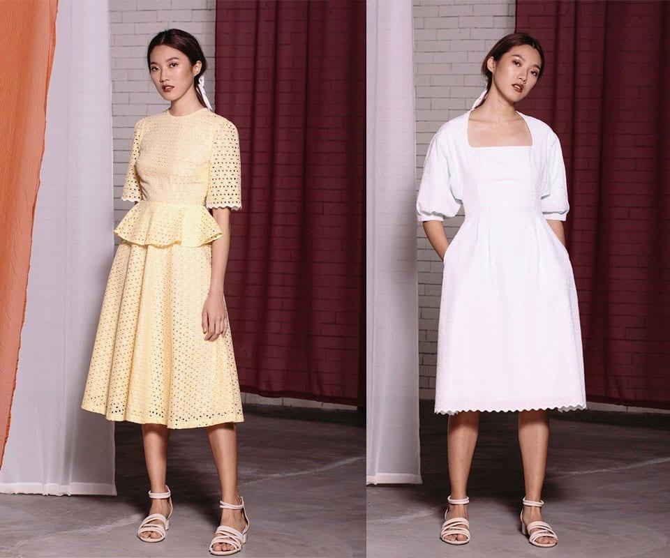 Retro Style Designer Midi Dresses