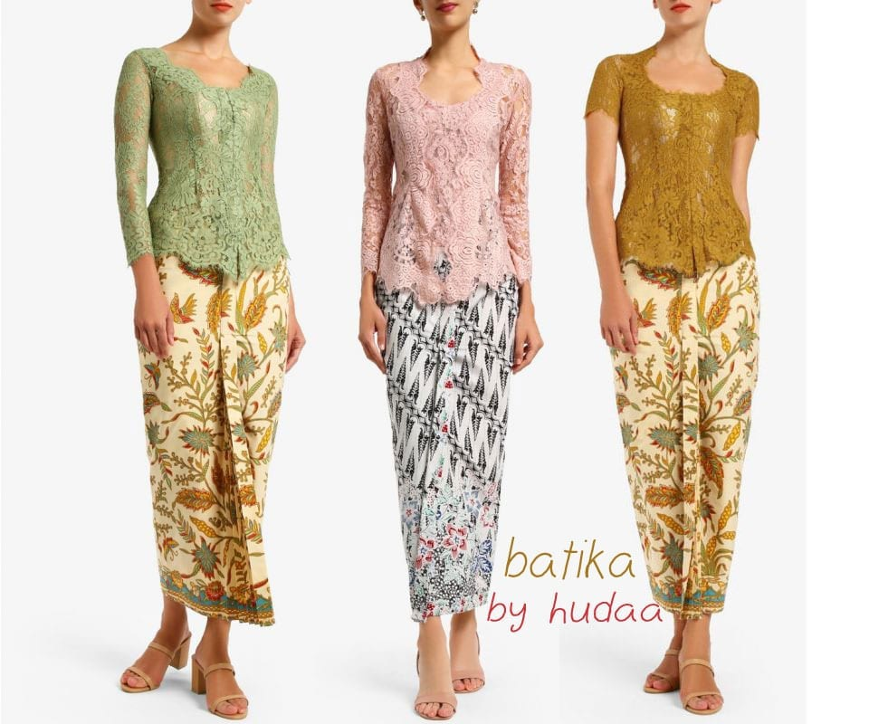 Lace Kebaya Blouse Ideas