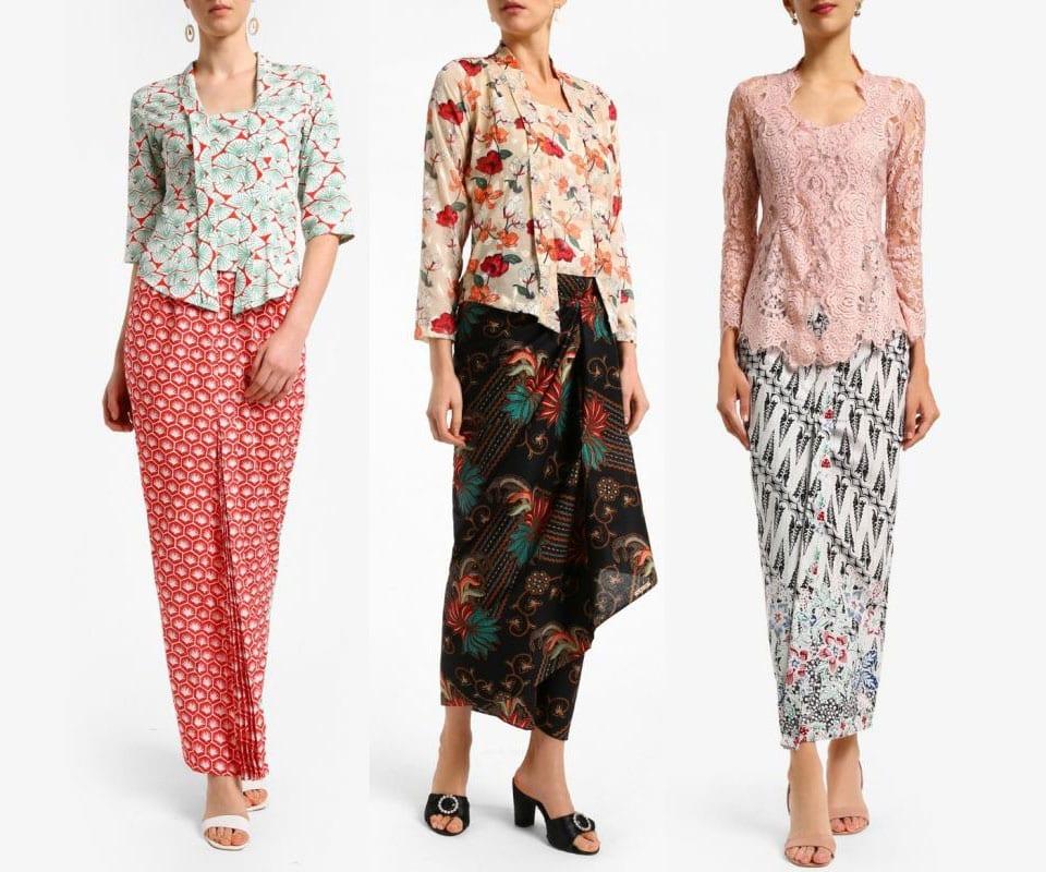 Short Kebaya Blouse Style Inspo 2019