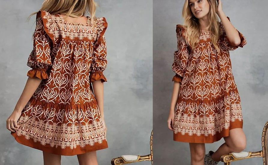 Eco-Friendly Swing Dress