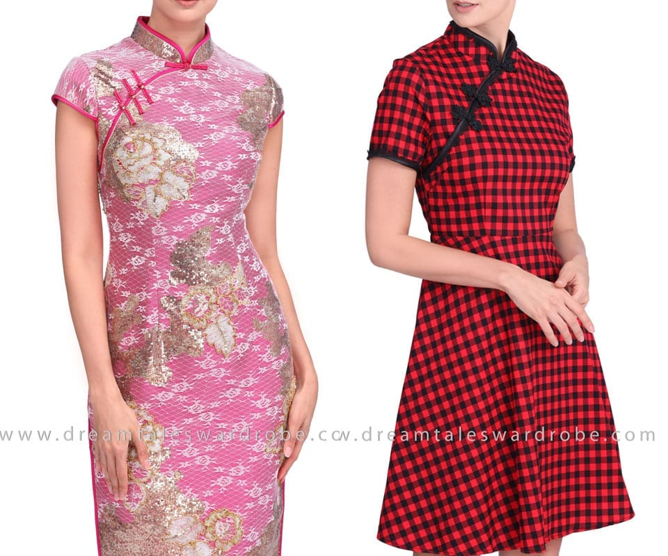 Cheongsam Dresses With Modern Style Elements