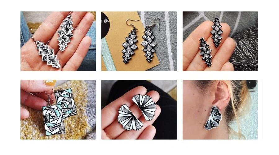 Statement Geometric Earrings Jewelry Trend 2020