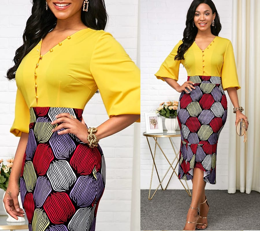 Color-Happy Dress Quarantine Fashion Inspo