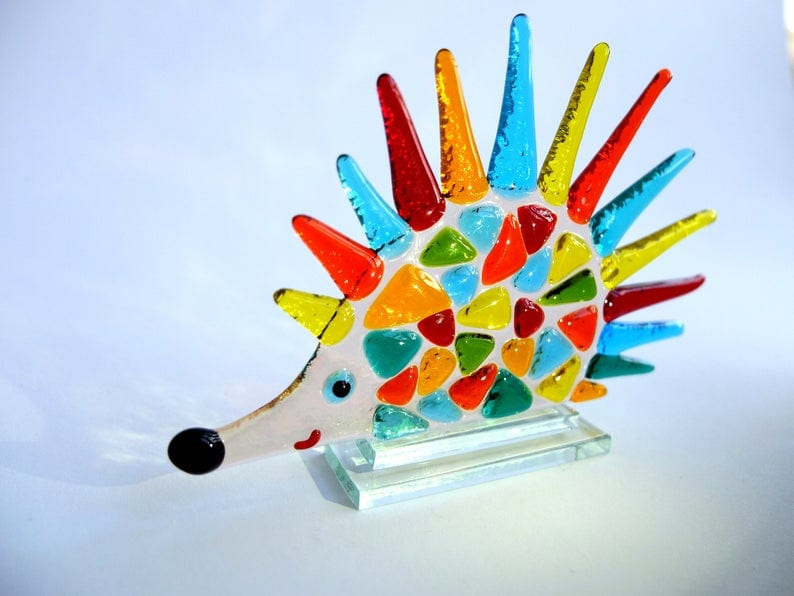 Hedgehog Suncatcher