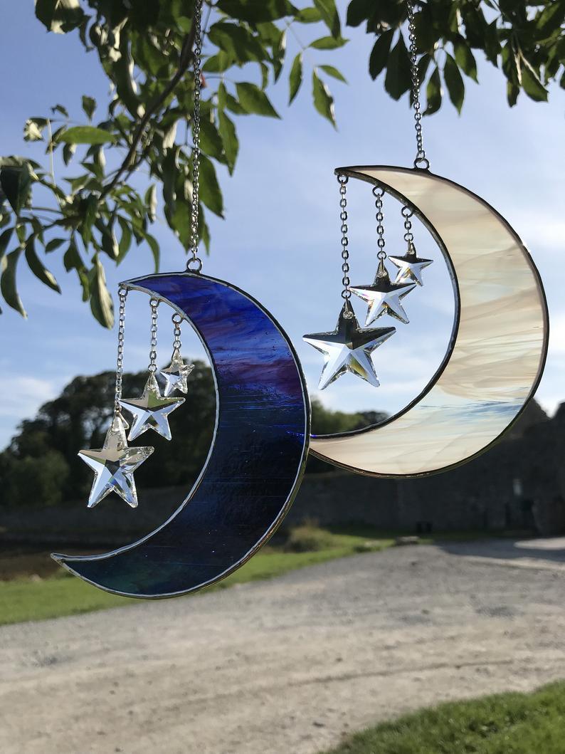 Moon & Starts Suncatcher