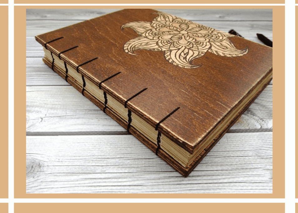 Aged Wooden Notebook Styles 2020