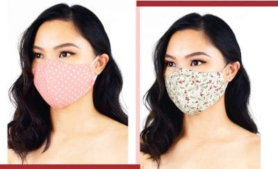 Adjustable Pure Cotton Mask Made in Malaysia