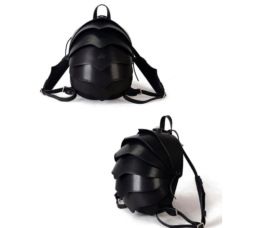 Beetle Leather Backpack