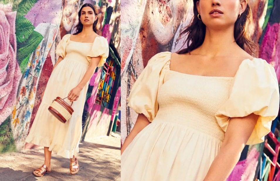 Milkmaid Dress Style Fashion Trend 2020