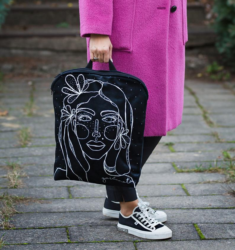 Expressive Canvas Backpack